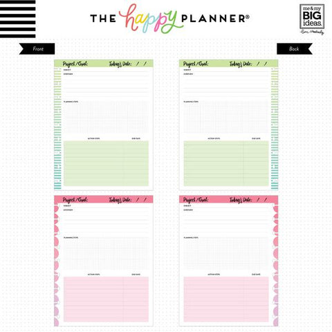 The Classic Happy Planner - Project Fill Paper
