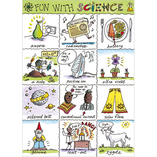 Greeting Card - Fun with Science