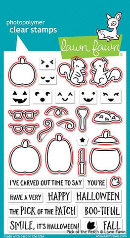 Lawn Fawn Clear Stamps - Pick of the Patch