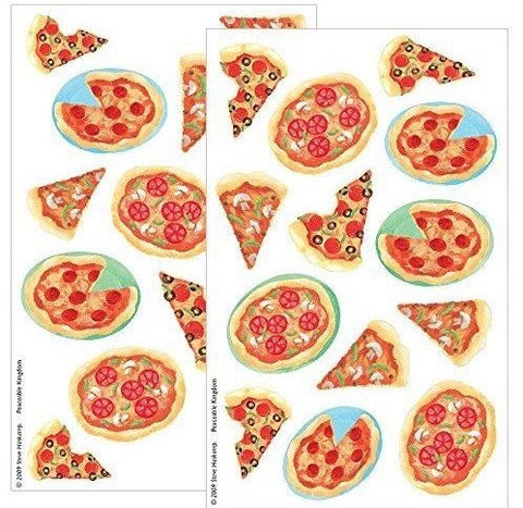 Pizza Scratch n Sniff Stickers