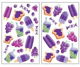 Scratch n Sniff Stickers - Grapes