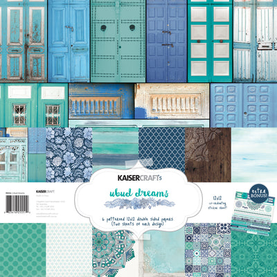 Ubud Dreams Paper Pack with Bonus Sticker Sheet