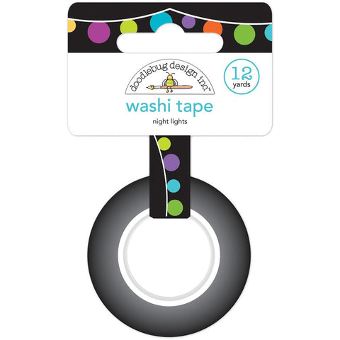 Doodlebug Pumpkin Party Nite Lights Washi Tape