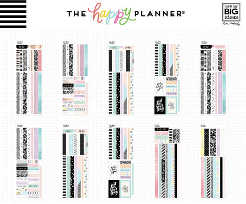 Happy Planner Pastels Washi Book