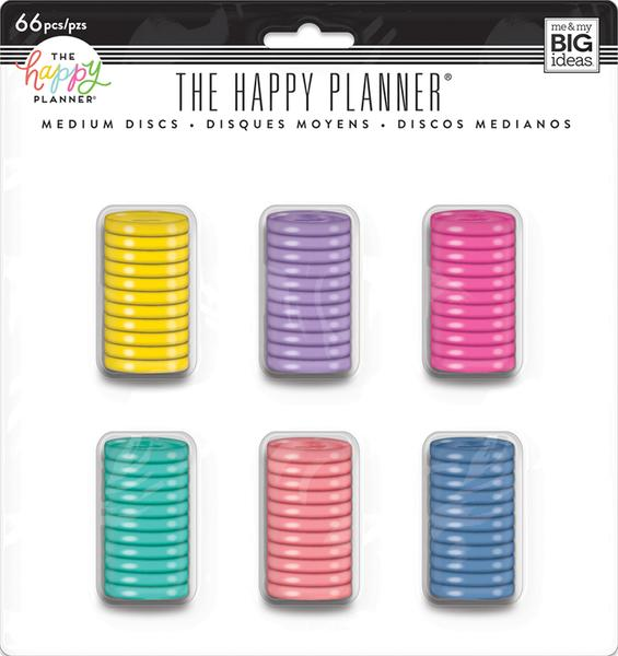 Create 365 Medium Happy Planner Expander Discs - Multi Value Pack