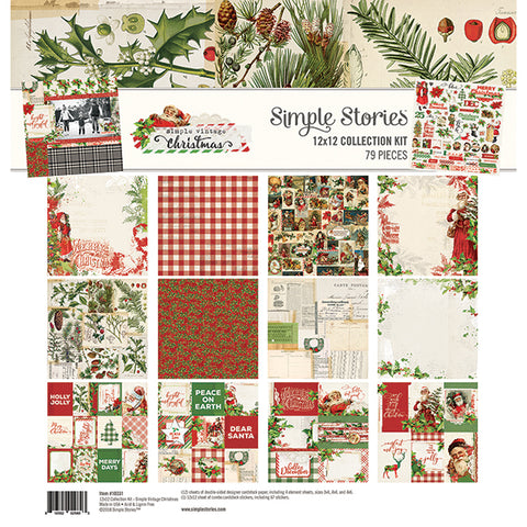 Simple Stories Simple Vintage Christmas Collection Kit