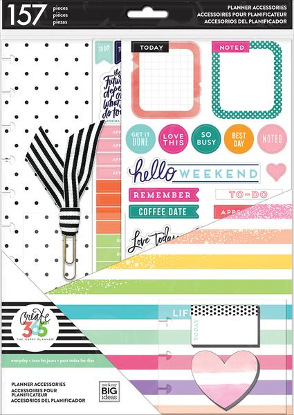 create 365 happy planner life is lovely accessory pack big