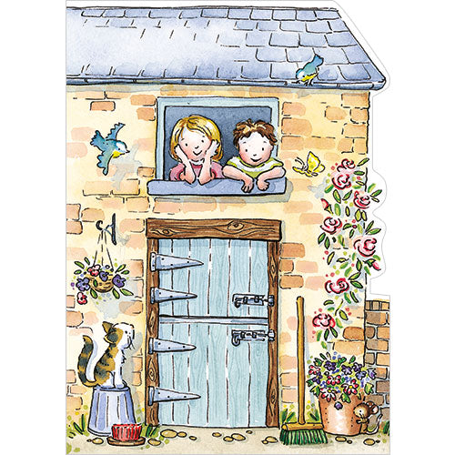 Greeting Card - The Stables