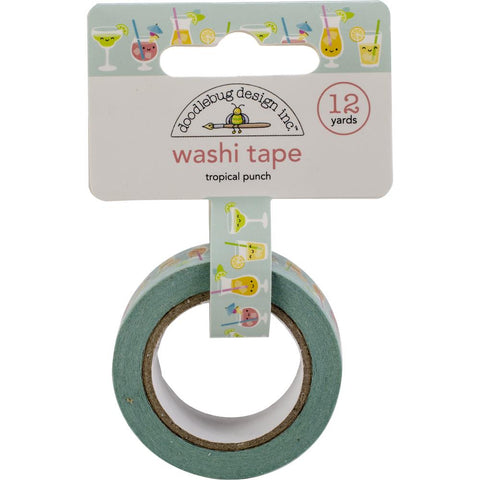 Doodlebug Tropical Punch Washi Tape
