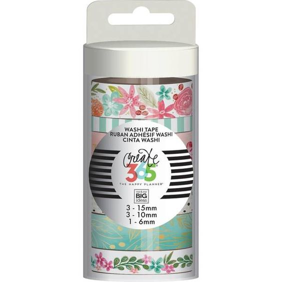 Create 365 Washi Tape - Happy Mind