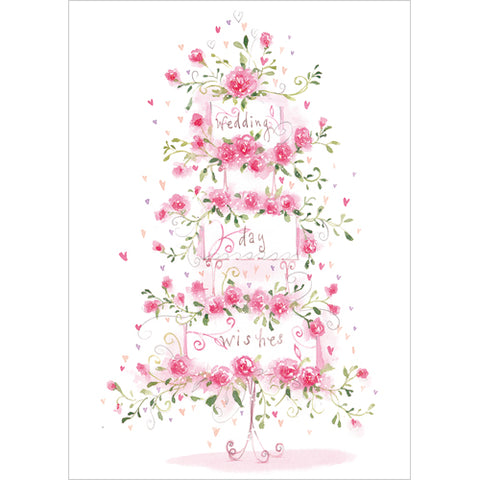 Greeting Card - Wedding Day Wishes