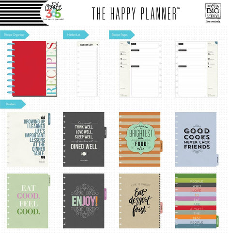 Happy Planner Recipe Organiser