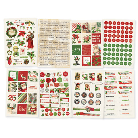 Simple Stories Simple Vintage Christmas Sticker Sheets