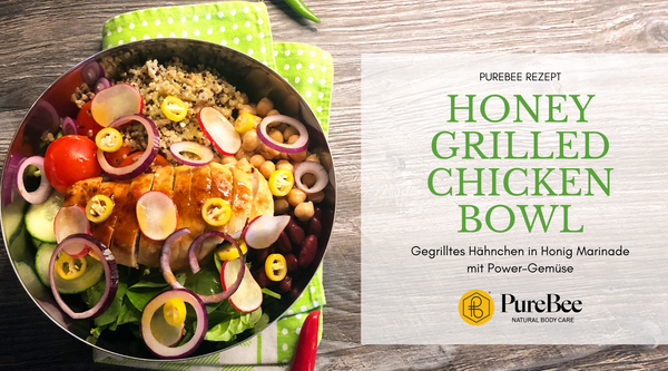 Rezept Honey Grilled Chicken Bowl