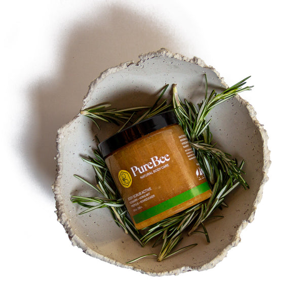 Hi, I'm Active - The Rosemary Body Scrub