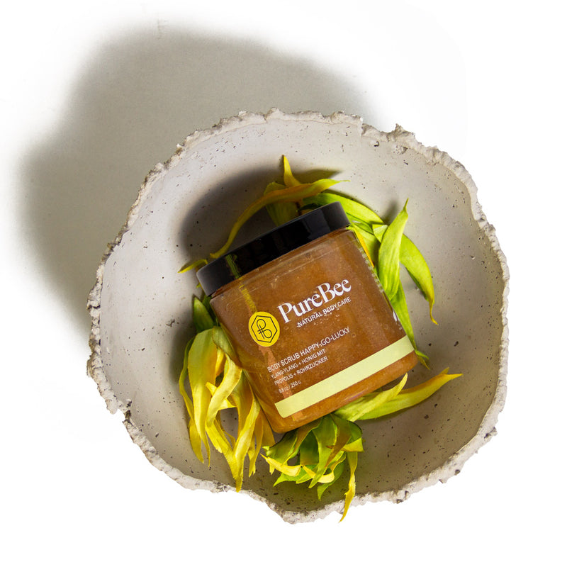 Hi, I'm Happy-go-lucky - der Ylang Ylang Body Scrub!