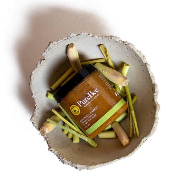 Hi, I'm a Kickstarter - the lemongrass body scrub!