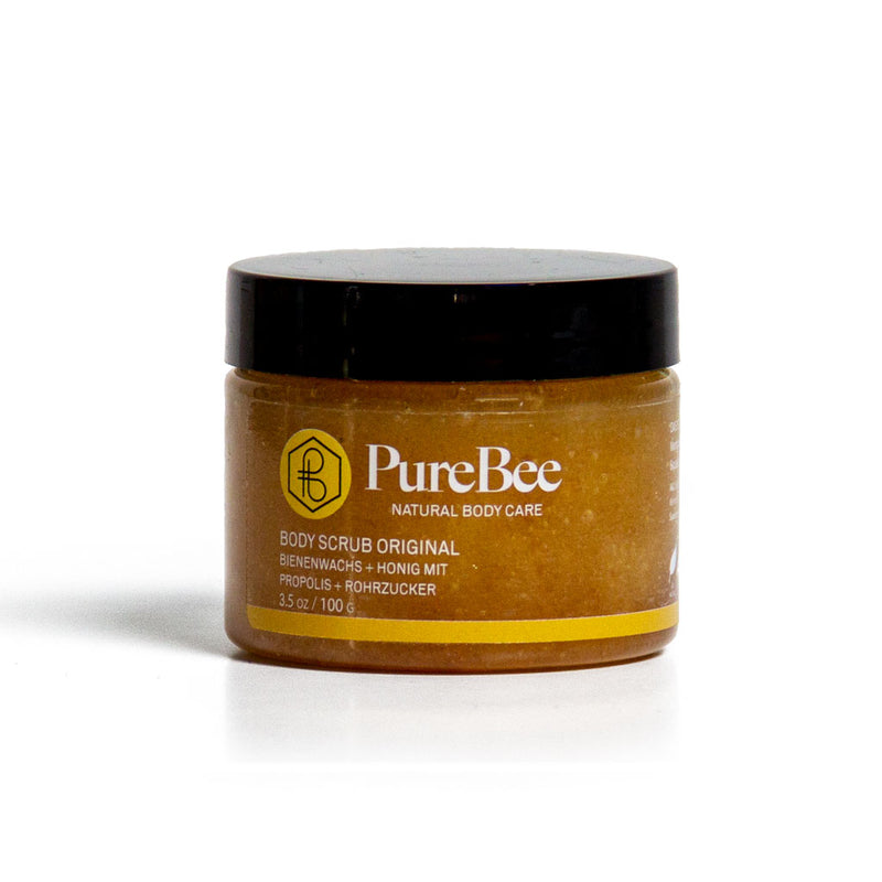 Hi, I'm Pure - der Original Body Scrub!