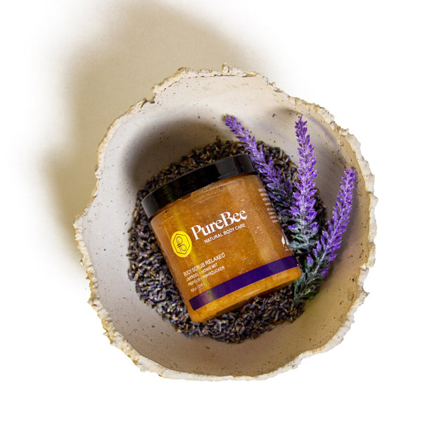Hi, I'm Relaxed - The Lavender Body Scrub!