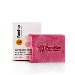 Hand and body soap rose