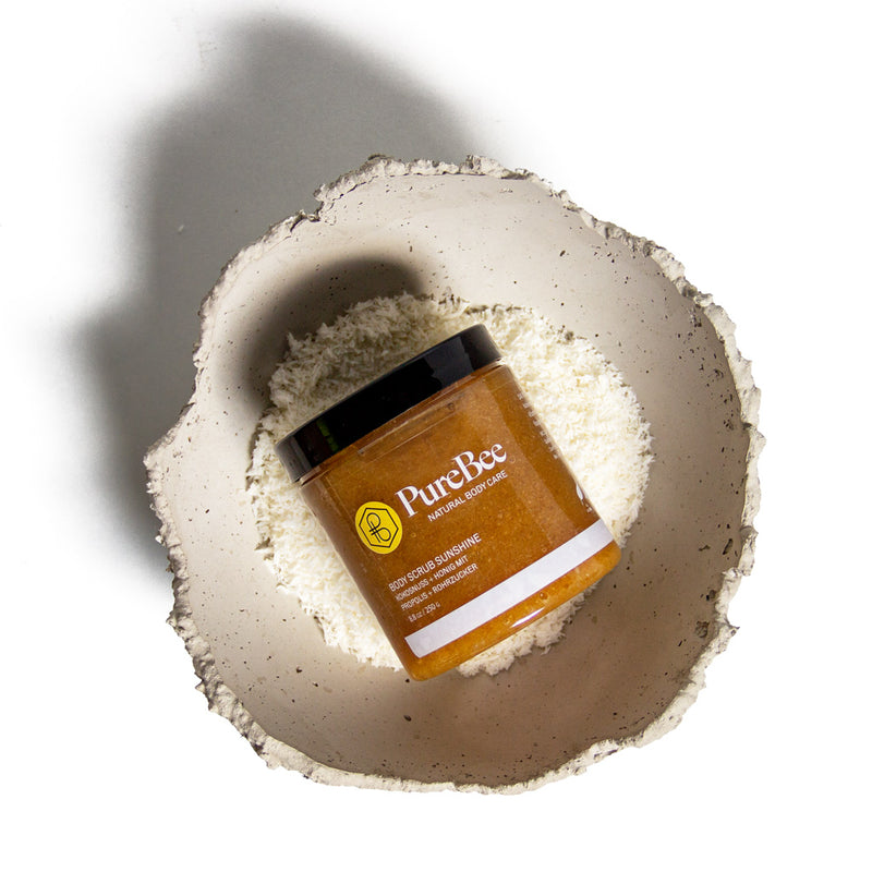Hi, I'm Sunshine - The Coconut Body Scrub