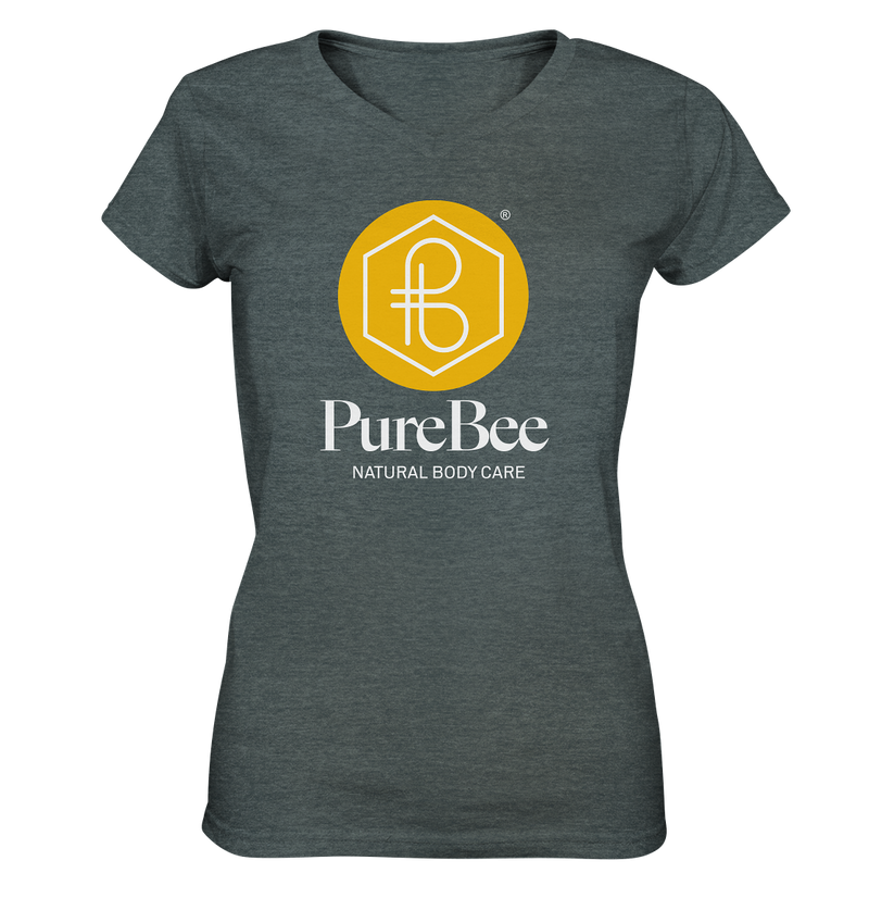 PureBee Logo V-Neck Shirt women