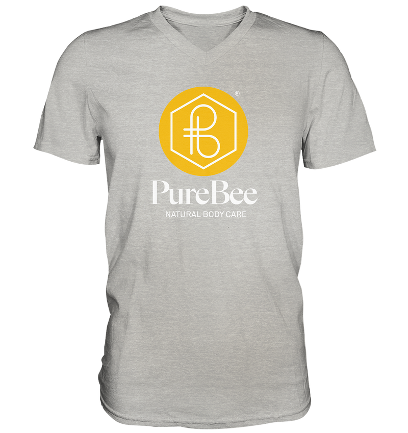 PureBee Logo V-Neck Shirt