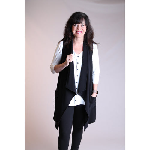 Sympli Key Vest - Fashion Crossroads Inc