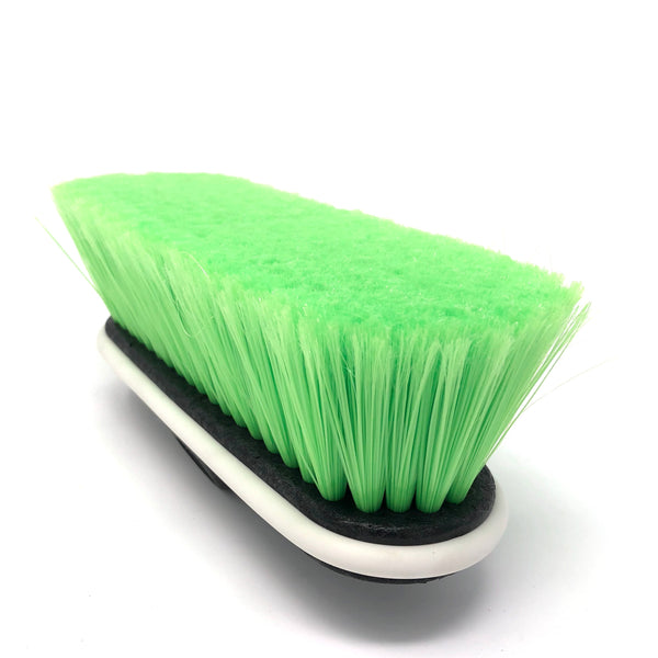 "Easy Reach 9"" Extra Soft Green Bristle Brush w/bumper - Chem-X"