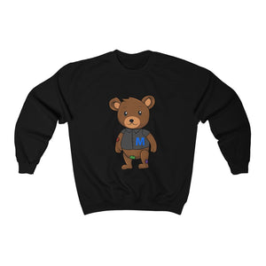 Curly Hair Matt Unisex Heavy Blend™ Crewneck Sweatshirt