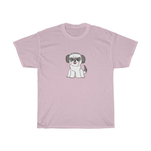 Nik Poire Puppy Unisex Heavy Cotton Tee