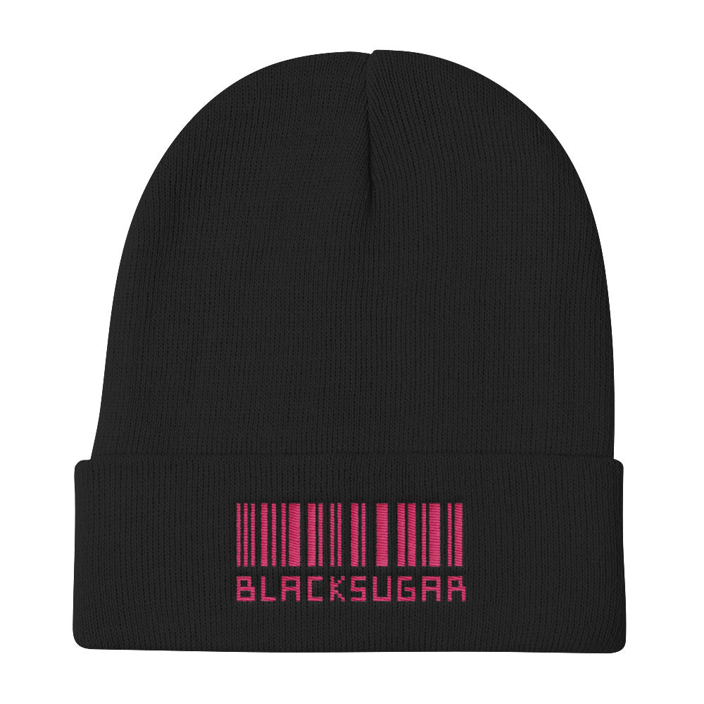 AOORA Black Sugar Knit Beanie