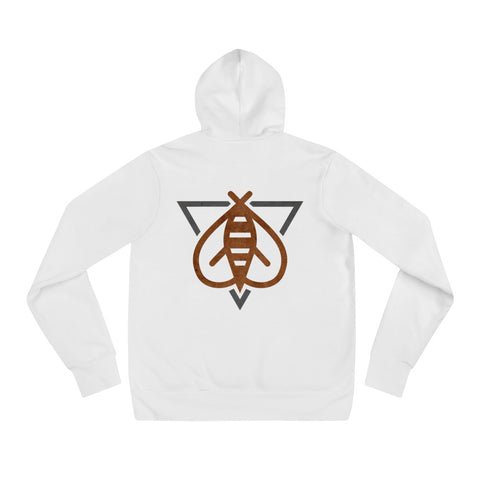 Team Killer Bee White Hoodie