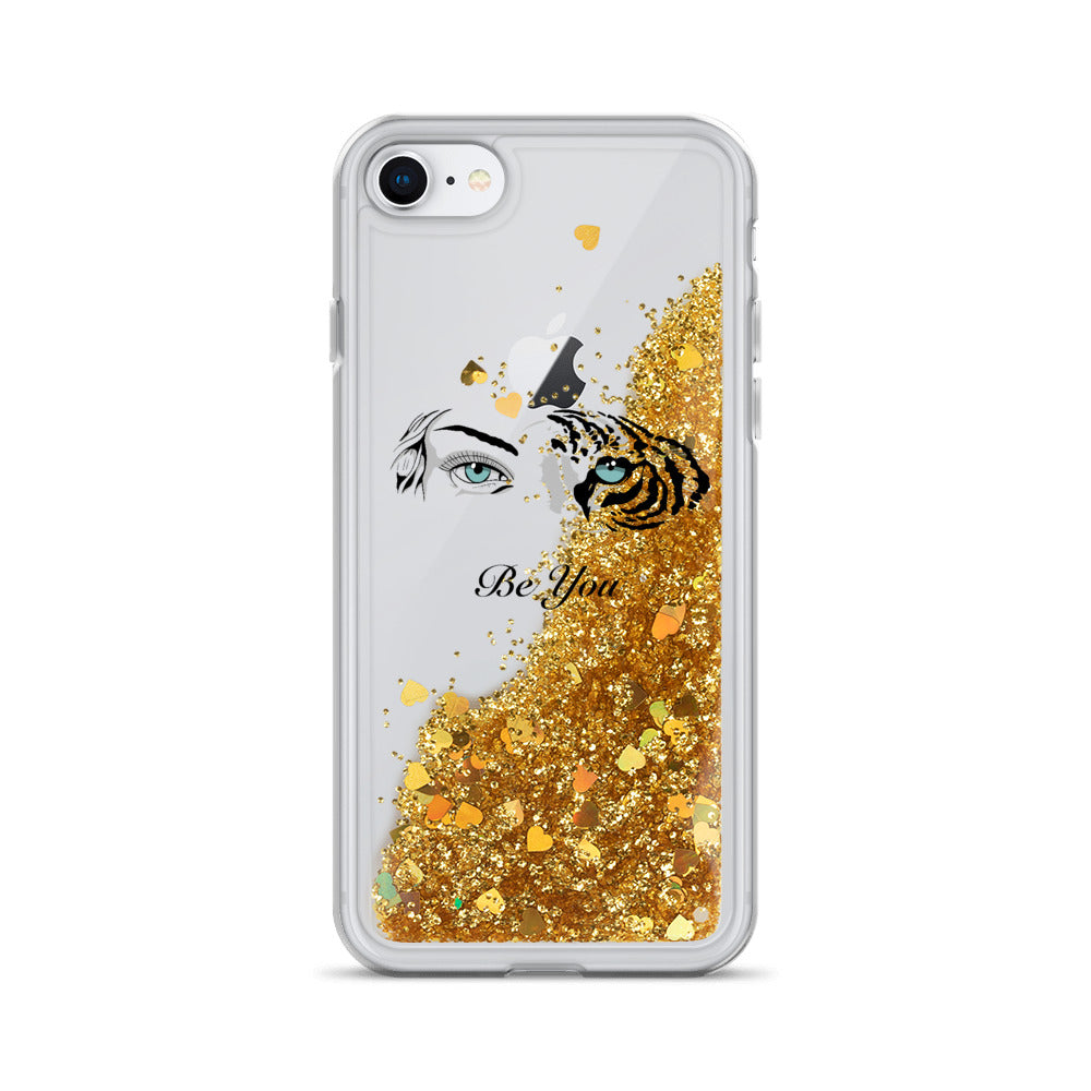 Carson Roney Liquid Glitter Phone Case