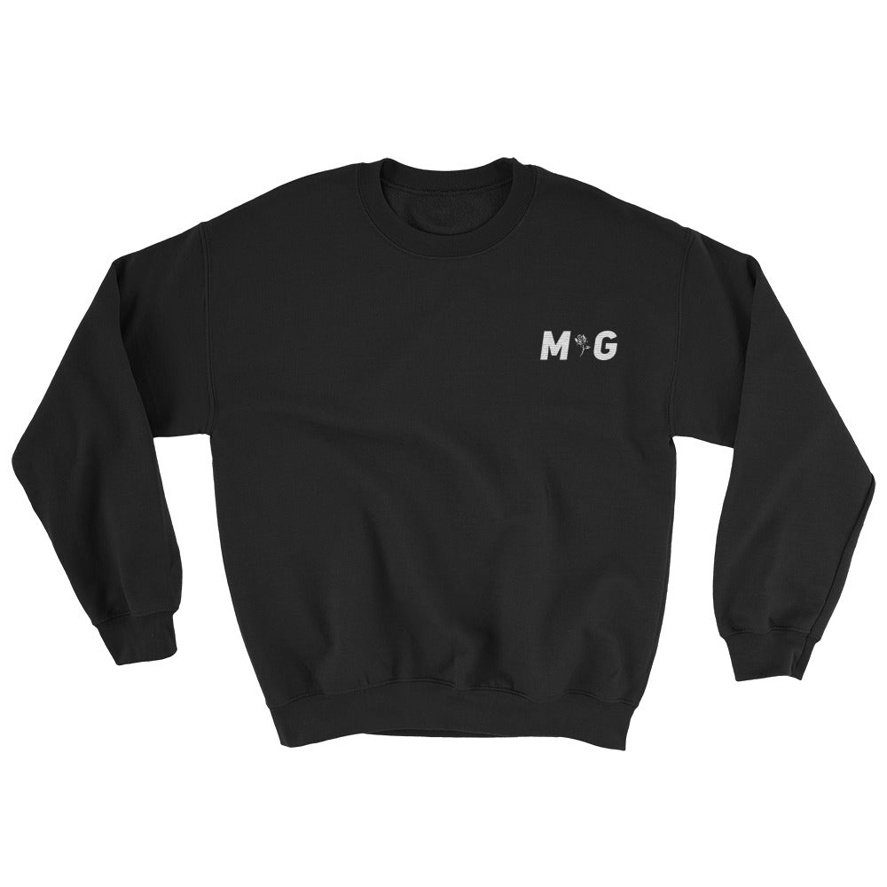MG White Logo Sweatshirt