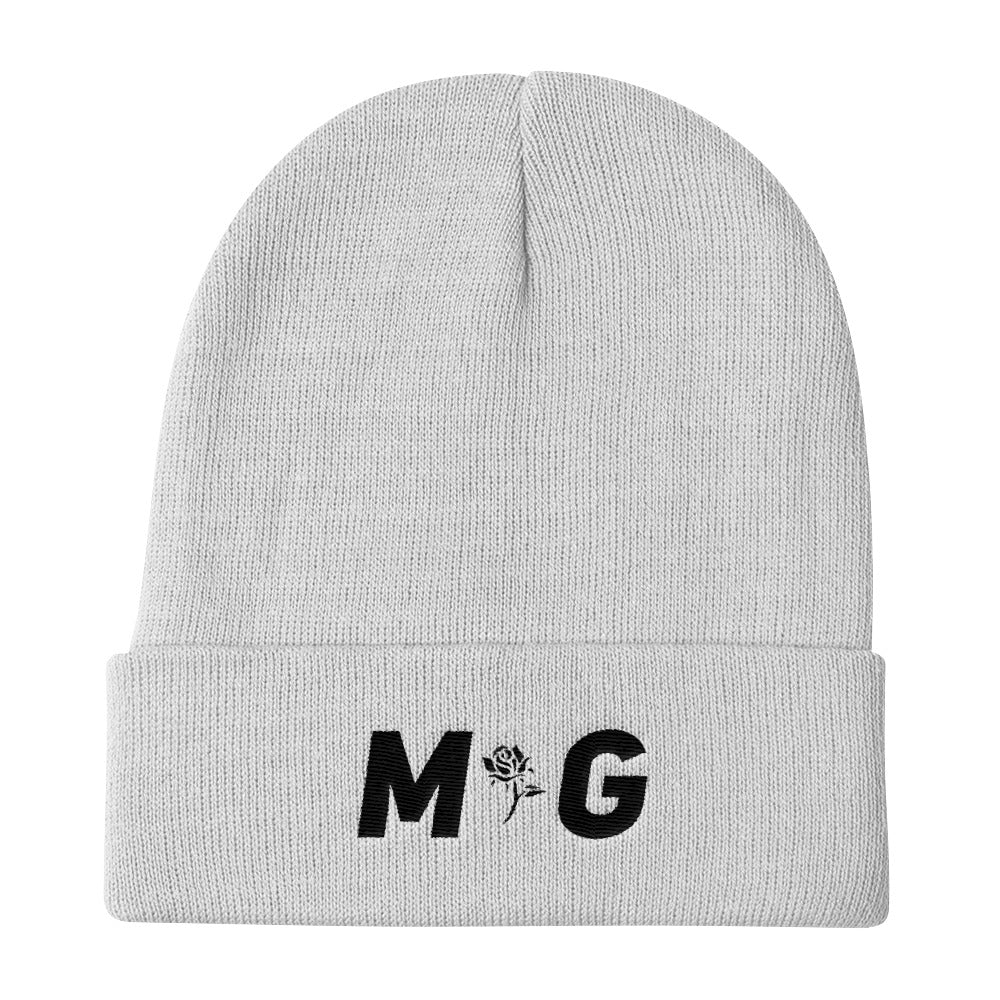 MG Black Logo Knit Beanie