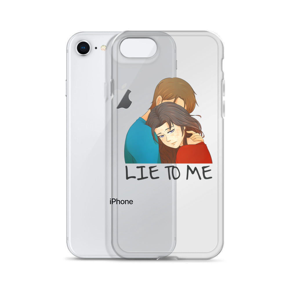 Mere Lie to Me iPhone Case