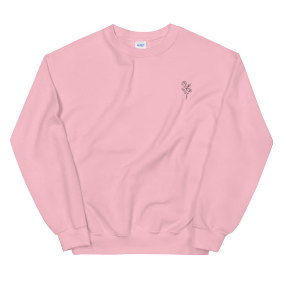 Ava Rose Embroidered Unisex Sweatshirt
