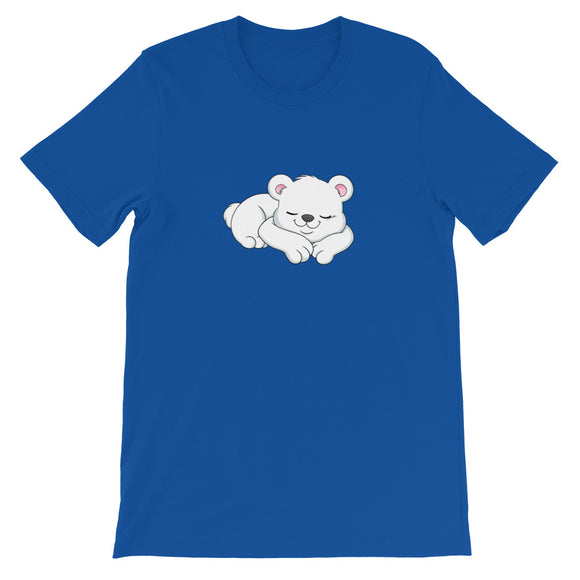 Kio Cyr Sleeping Polar Bear Unisex T-Shirt