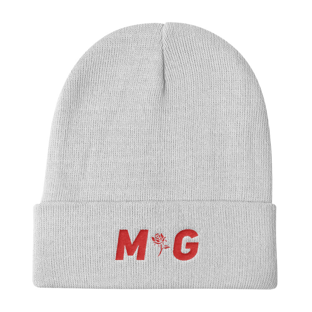 MG Red Logo Knit Beanie