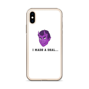 BrokeBoy Beck iPhone Case