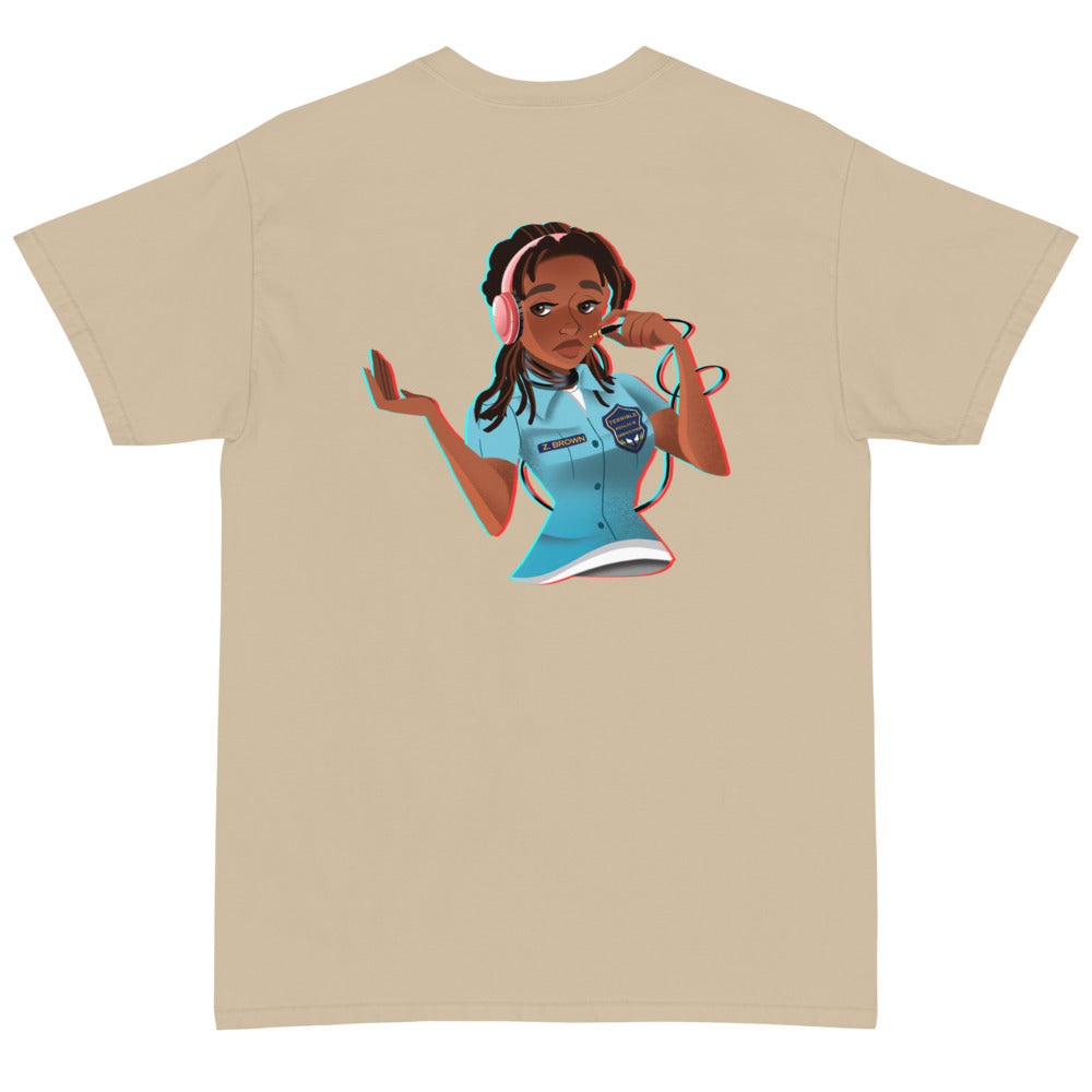 Zira Brown Short Sleeve T-Shirt
