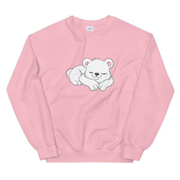 Kio Cyr Sleeping Bear Unisex Sweatshirt