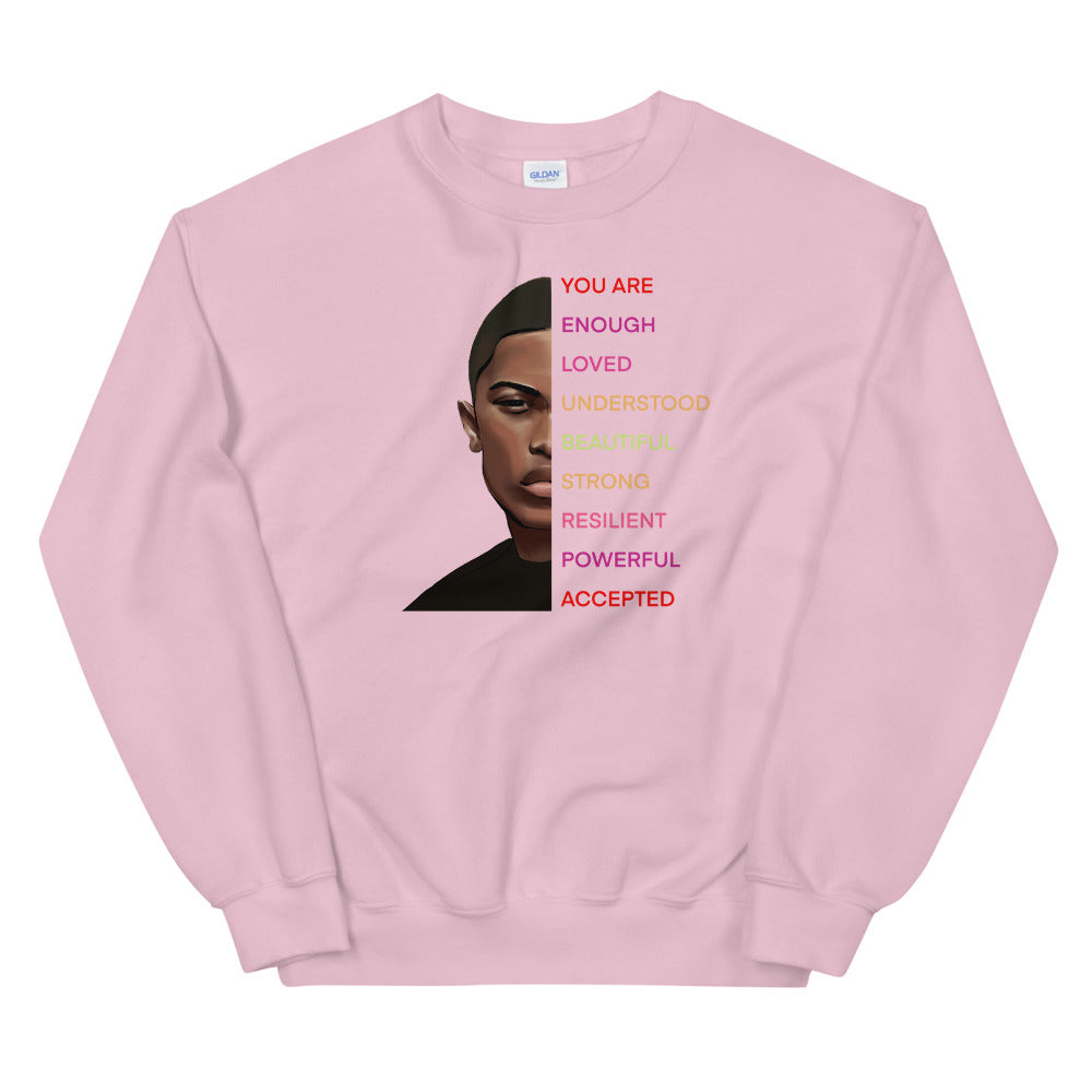 "La'Darius Marshall ""You Are"" Unisex Sweatshirt"