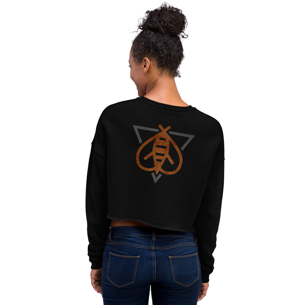 Team Killer Bee Crop Sweatshirt