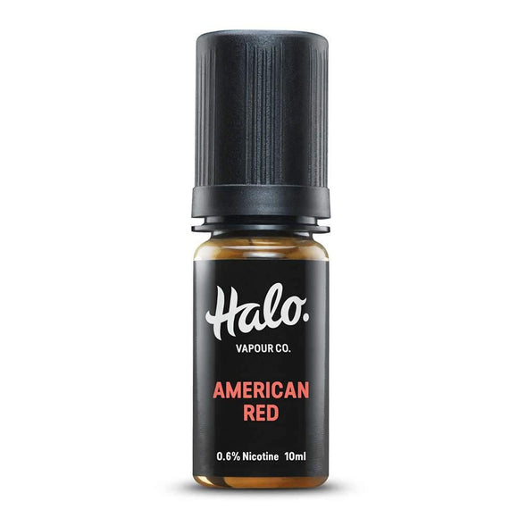 Halo - American Red 10ml | Free UK Delivery | Lincolnshire Vapours