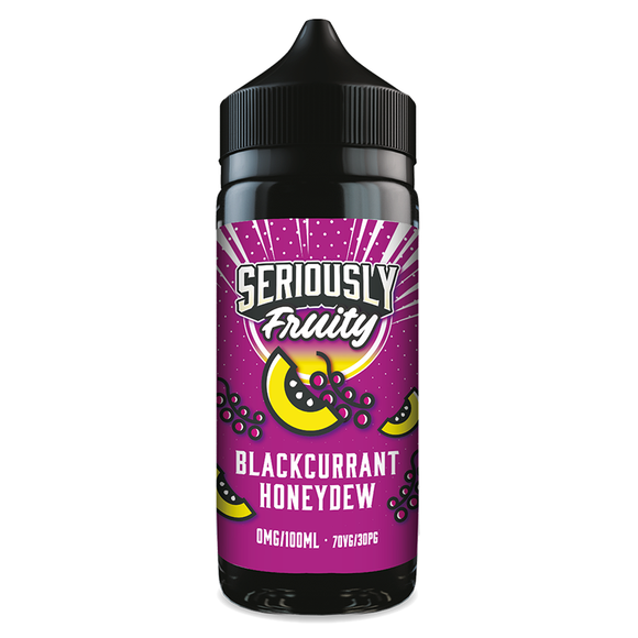 Seriously Fruity - Blackcurrant Honeydew 100ml Shortfill - Lincolnshire Vapours
