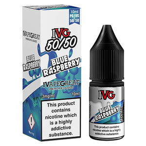 IVG - Blue Raspberry 50/50 10ml - Lincolnshire Vapours