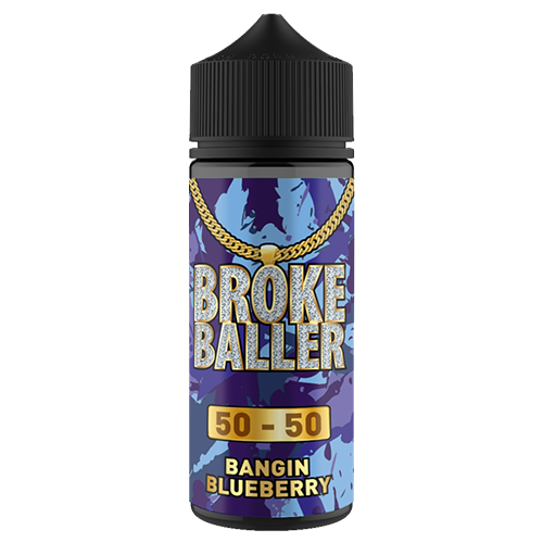 Broke Baller - Bangin Blueberry 80ml Shortfill | Lincolnshire Vapours