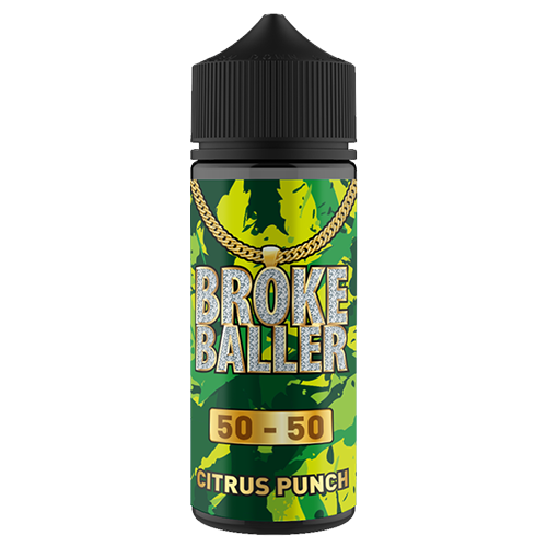 Broke Baller - Citrus Punch 80ml Shortfill | Lincolnshire Vapours